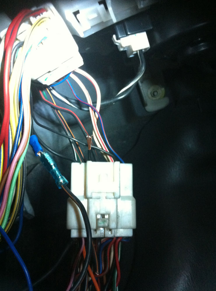 A successful repair of the bad connector in the wiring loom