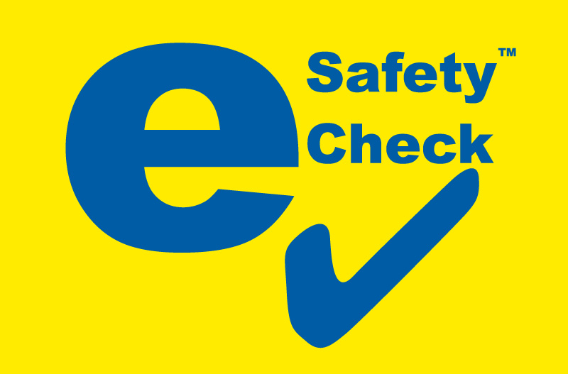 e Safety Check Logo