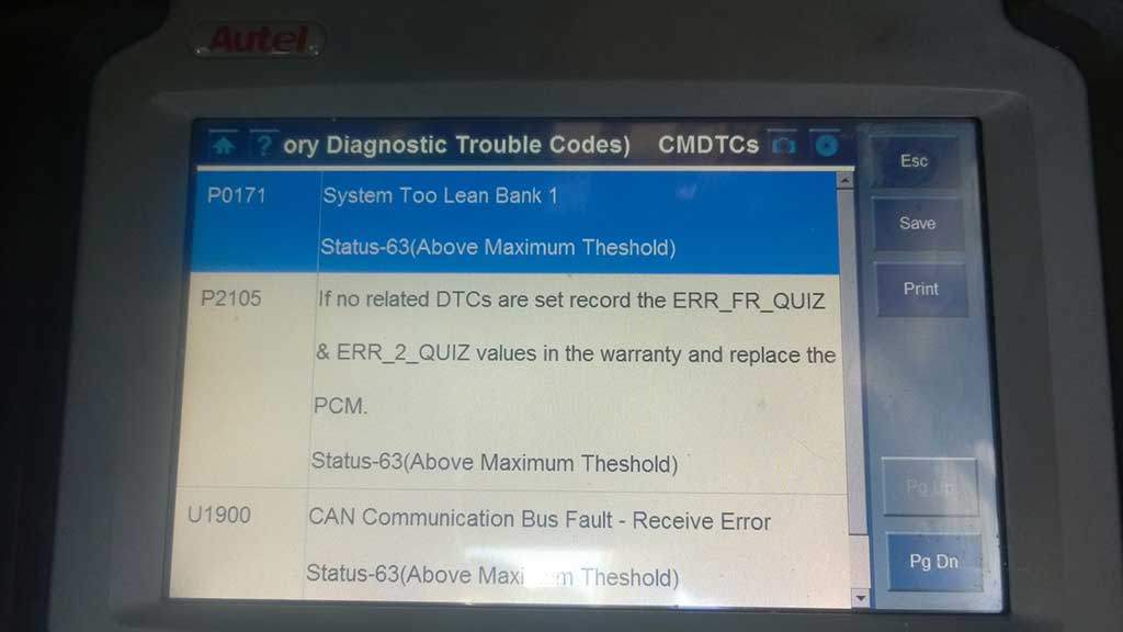 BA-XR8-Fault-Code-Read-out