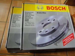 Bposch Brake disc repalcement