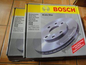 Bposch Brake disc repalcement