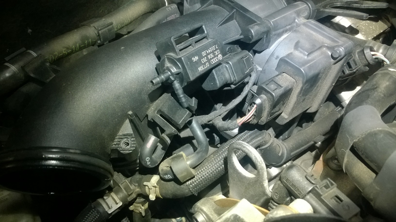 2008 VW golf intake flap VSV solenoid