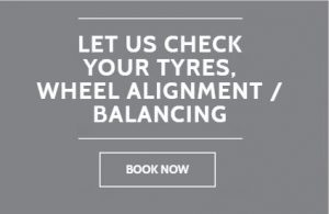 LET US CHECK YOUR TYRES WHEEL ALIGNMENT BALANCING