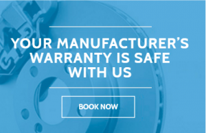 vehicles manufacturers warranty is safe with us in seven hills