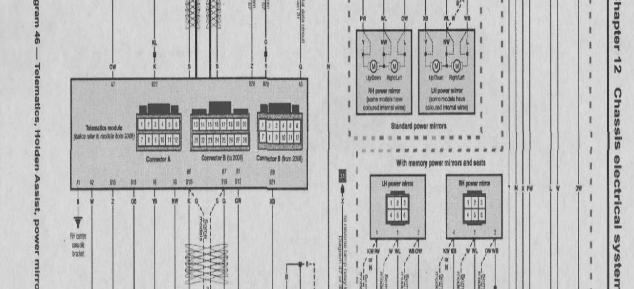 Ve Commodore Wiring Diagram | Repair Manual on