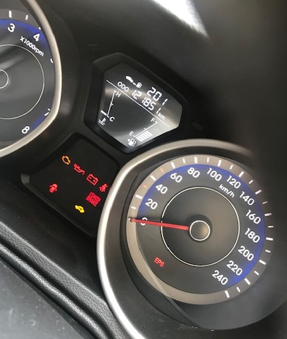 Hyundai Elantra – Check Engine Light and EPS Light – C1201
